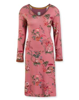 Pip Studio Danai Night Dress Chinese Porcelain Pink M
