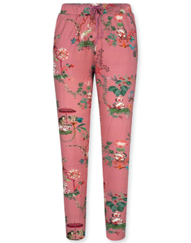 Pip Studio Bobientje Long Trousers Chinese Porcelain Pink XL