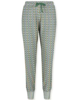 Pip Studio Bobien Long Trousers Star Flower Blue XL