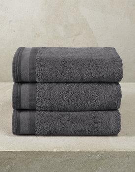 De Witte Lietaer handdoek Excellence 50x100 dark grey