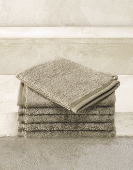 De Witte Lietaer washand Excellence 16x22 taupe