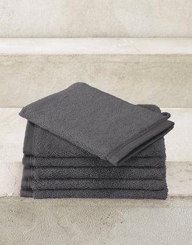 De Witte Lietaer washand Excellence 16x22 dark grey