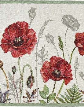 Sander placemat Poppy meadow