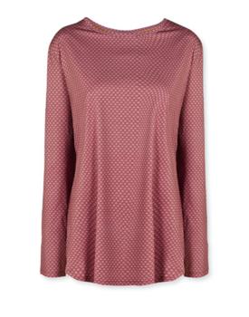 Pip Studio Tamar Sport Shirt Long Sleeve Lace Flower Red L