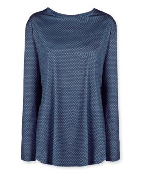 Pip Studio Tamar Long Sleeve Lace Flower Blue XL