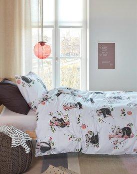 Beddinghouse Kids Sweet Koala Dekbedovertrek  Grijs 140 x 200/220 cm + 1x 60 x 70 cm