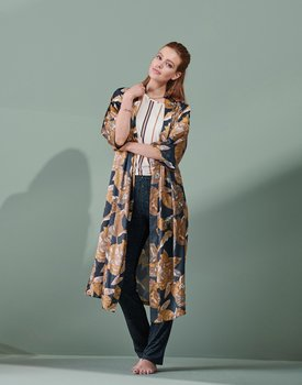 Essenza Ilona Gwyneth Kimono M Nightblue