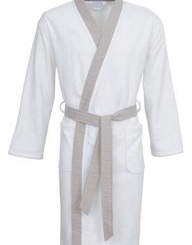 Carl Ross badjas 37110 white/platin M