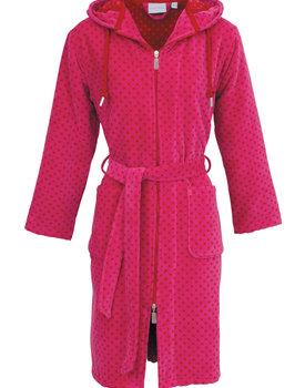 Carl Ross damesbadjas middel 410410 pink/deep red 40/42