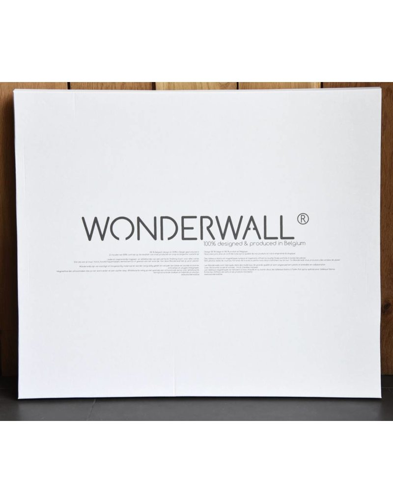 FAB5 Wonderwall Magneetbord Uil Medium 50 X 60 CM