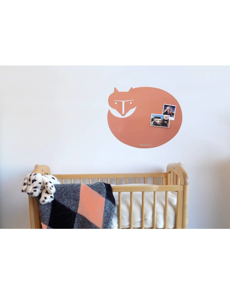 Wonderwall 50 X 60 CM FOXY GINGER peach magnetic board