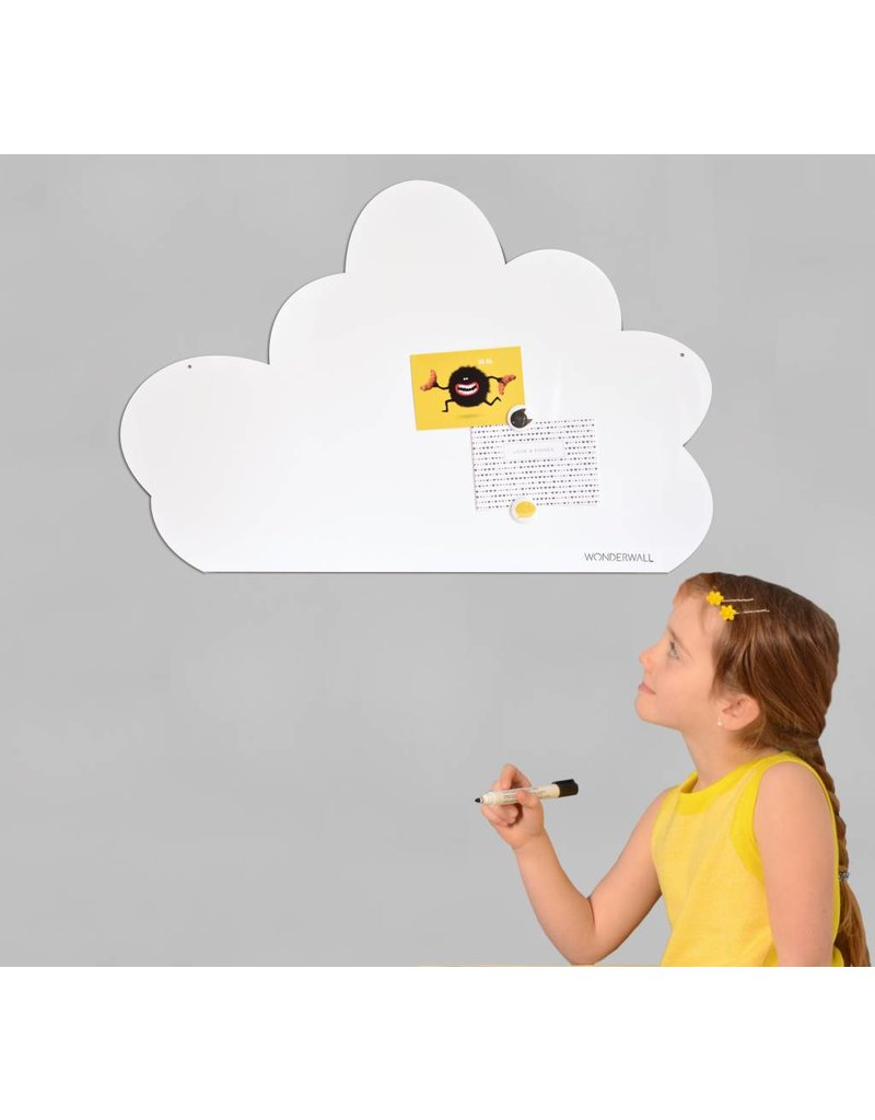 Wonderwall Whiteboard Cloud 54 x 80 cm