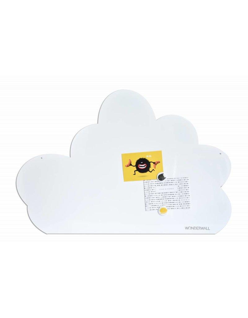 FAB5 Wonderwall Tableau magnétique nuage 54 x 80 cm