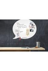 FAB5 Wonderwall whiteboard et tableau magnétique bulle 50 x60 cm