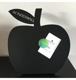 FAB5_Wonderwall bureau magneetbord zwart