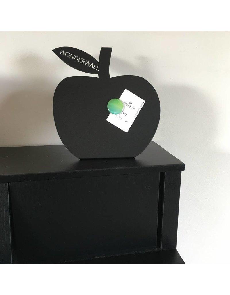 FAB5_Wonderwall bureau magneetbord staand zwart