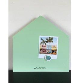 Tableau magnetic maison mint