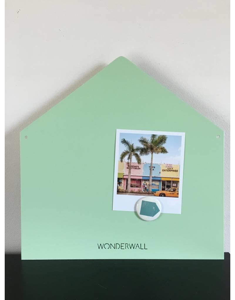 Tableau magnetic maison mint small
