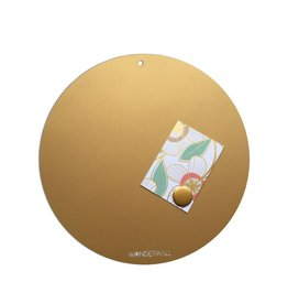 Magneetbord CIRCLE OF LIFE  GOLD 40cm diam.
