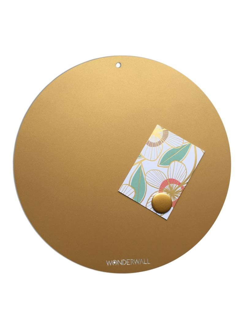 Magnetic Board CIRCLE OF LIFE  colorGOLD 40cm diam.
