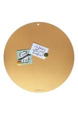 Tableau magnétique CIRCLE OF LIFE  couleur OR 60cm diam.