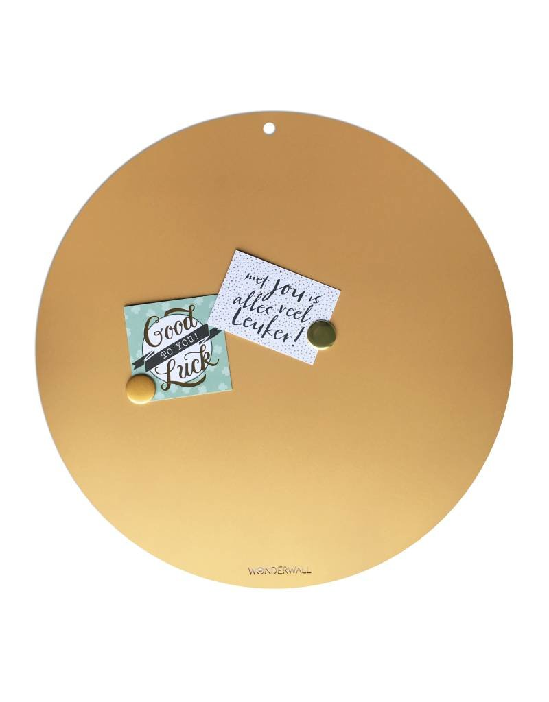 Magnetic Board CIRCLE OF LIFE  colorGOLD 60cm diam.