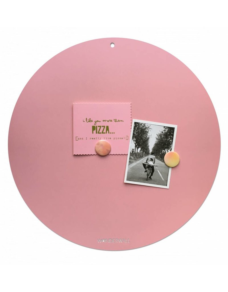 NEW ROUND GOLD MAGNETIC PINK