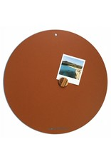 NEW ROUND GOLD MAGNETIC BOARD Rusty-Brown