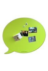 Wonderwall    Magneetbord tekstballon Large summer green 67 x 80 cm