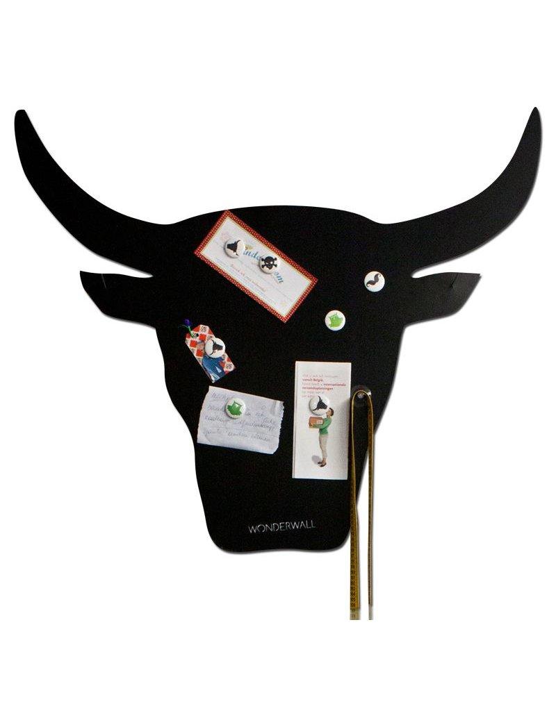 Wonderwall 95 X 80 CM TAURO BLACK Magnetic Board