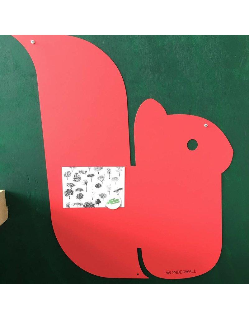 Tableau magnétique écureuil medium 50x60 cm