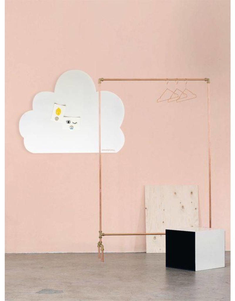 FAB5_Wonderwall 95 x 80 cm XL WOLK XL whiteboard + magneetbord- Special  collection
