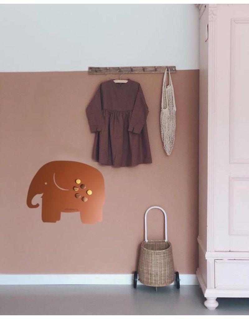 FAB5_Wonderwall EXCLUSIVE COLLECTION  FAB5 Magnet Board elephant medium 50 x 60 cm