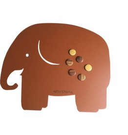 FAB5_Wonderwall FAB5 magneetbord olifant medium
