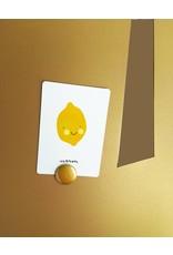 FAB5_Wonderwall Magnetic Board GOLD CACTUS XXL - 1,45 m x 82 cm