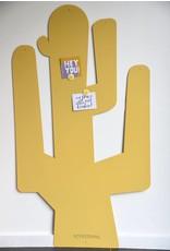 FAB5_Wonderwall Magneetbord Bruin CACTUS XXL - 1,45 m x 82 cm