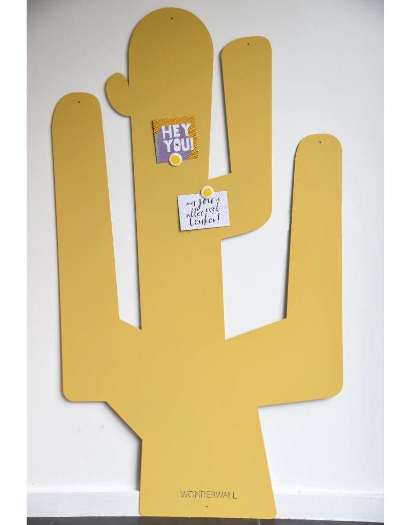 Tableau Magnetique Brun CACTUS XXL - 1,45 m x 82 cm