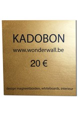 FAB5_Wonderwall GIFT VOUCHER 20€