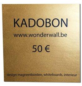 FAB5_Wonderwall GIFT VOUCHER 50€
