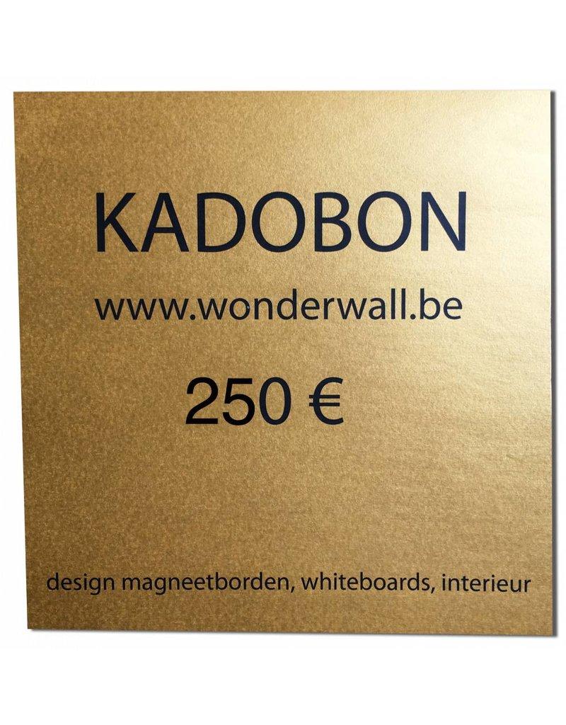 FAB5_Wonderwall GIFT VOUCHER 250€