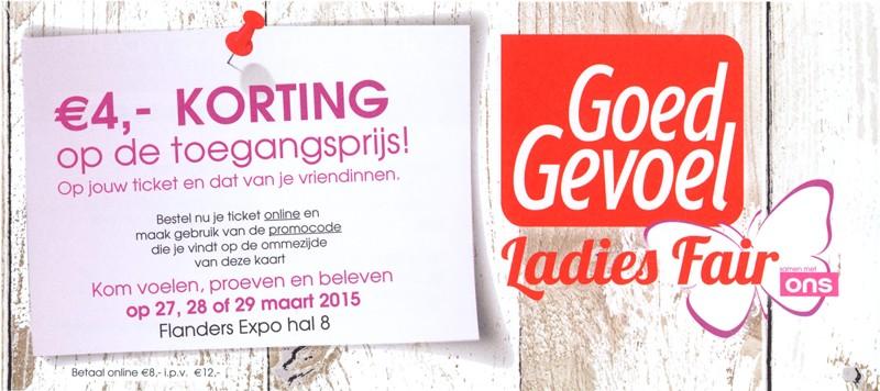 kortingscode Ladies Fair Goed Gevoel