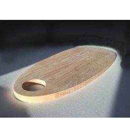 FAB5 Wonderwall Grote Serveerplank 60 x25 cm- Rubberwood hout GREAT BUY