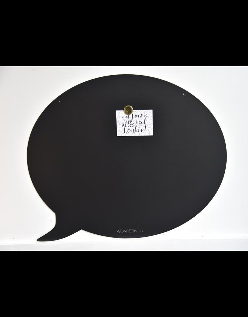 FAB5 Wonderwall Magnetic Board speech bubble 50 x 60 cm