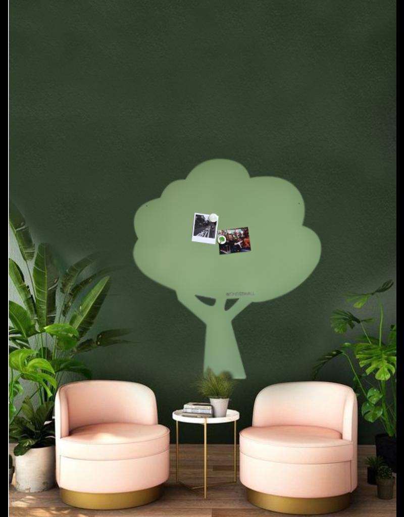 Tableau magnétique vert Kamakura- Exclusive edition 95 x 80 cm