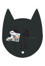 FAB5 Wonderwall Tableau magnétique chat large 67 x 80 cm
