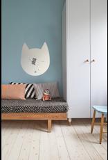 FAB5 Wonderwall 67 x 80 cm tableau magnétique design chat gris
