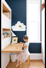 FAB5 Wonderwall whiteboard en magneetbord wolk 54 x 80 cm