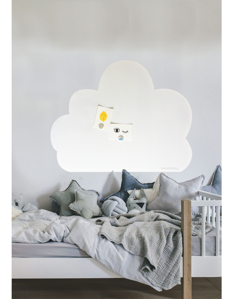 FAB5_Wonderwall 95 x 80 cm Cloud XL whiteboard + magnetic board - Special  collection