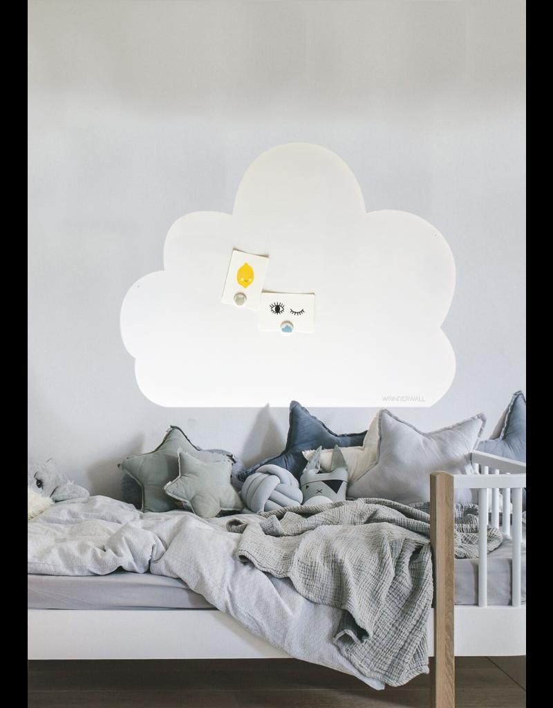 FAB5_Wonderwall 95 x 80 cm XL WOLK XL whiteboard + magneetbord- Special  collection