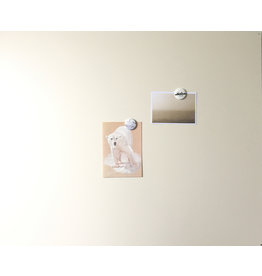 Magnet Board rectangle off white 850x700mm